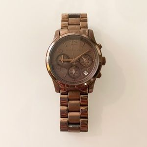 Chocolate Michael Kors watch